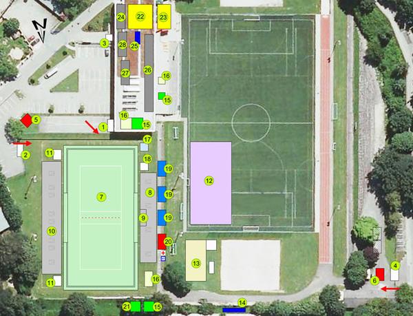 Lageplan Linz