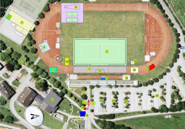 Lageplan Salzburg