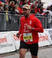 Martin Weiß beim Linz Marathon