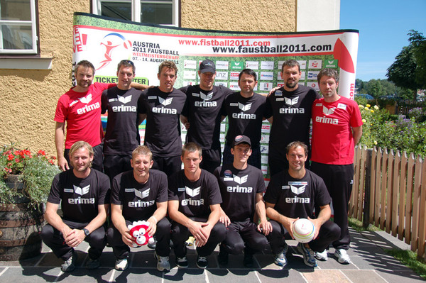 Faustball Team Austria - 10 Mann Kader
